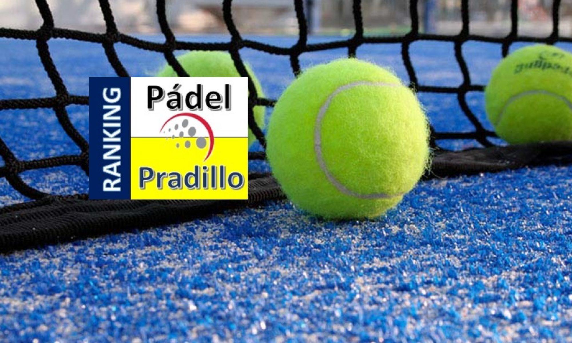 Ranking de Pádel CDM Pradillo